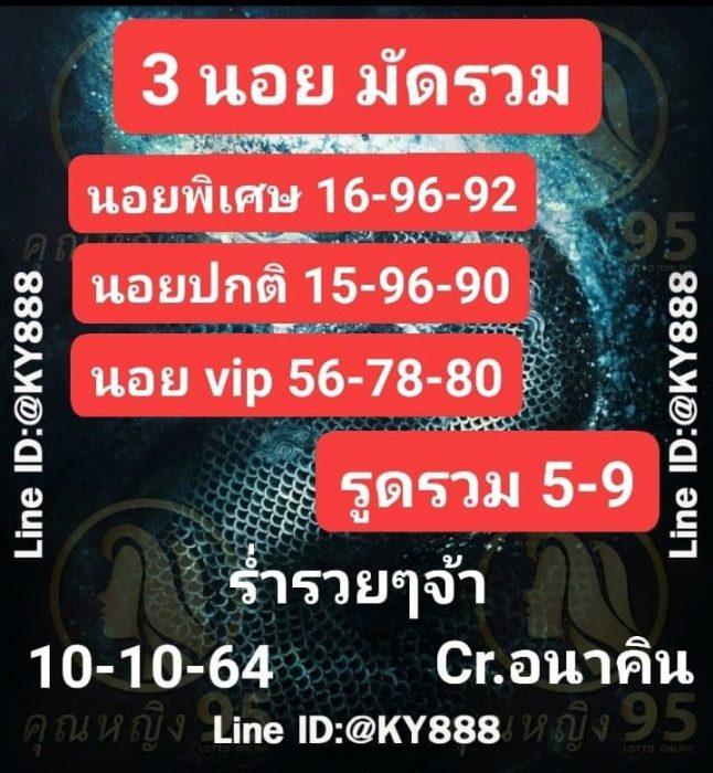 แนวทางหวยฮานอย10-10-64-วันนี้.com12