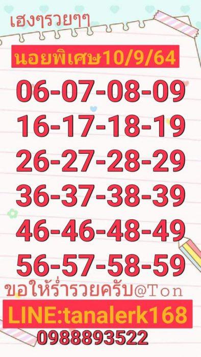 แนวทางหวยฮานอย10-9-64-วันนี้.com6