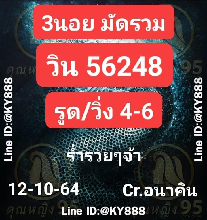 แนวทางหวยฮานอย12-10-64-วันนี้.com13