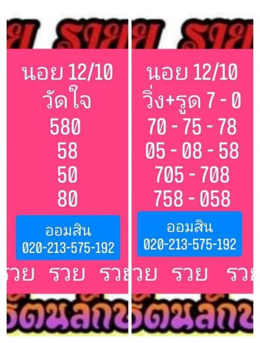 แนวทางหวยฮานอย12-10-64-วันนี้.com14