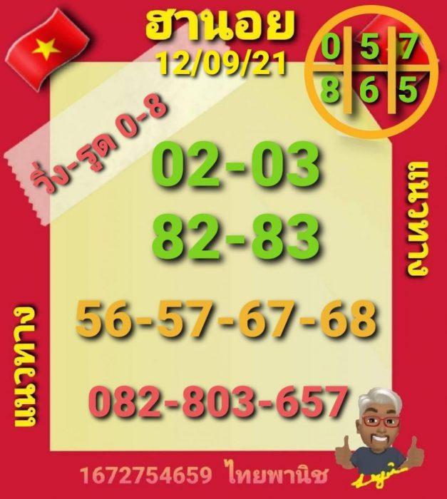 แนวทางหวยฮานอย12-9-64-วันนี้.com11