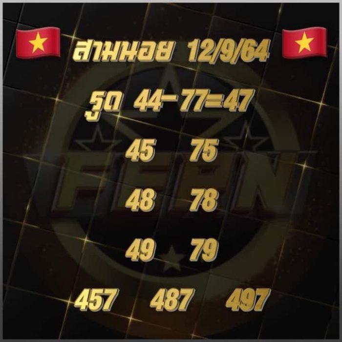 แนวทางหวยฮานอย12-9-64-วันนี้.com12