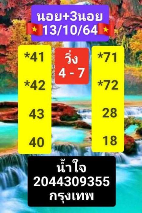 แนวทางหวยฮานอย13-10-64-วันนี้.com15