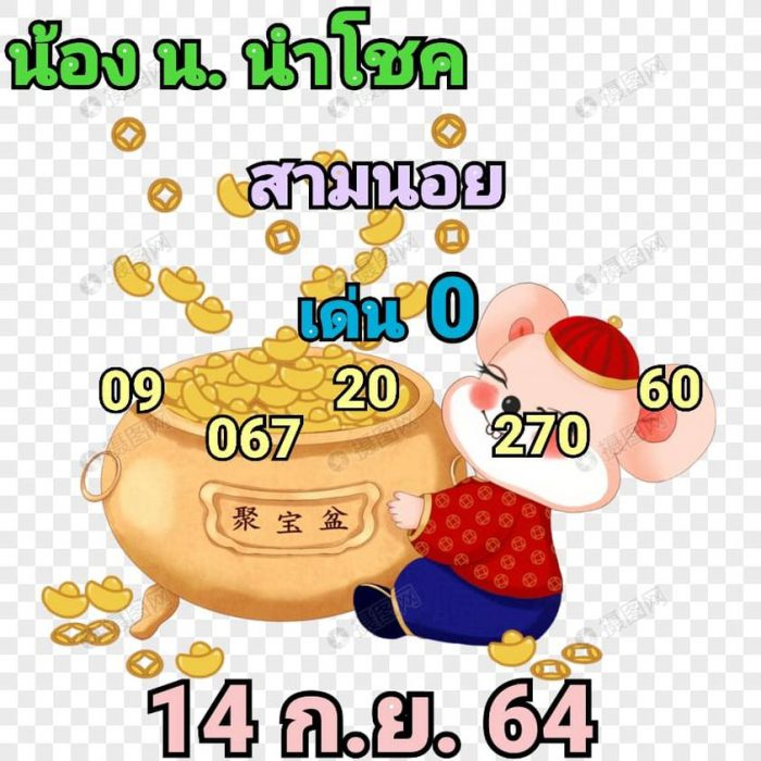 แนวทางหวยฮานอย14-9-64-วันนี้.com10