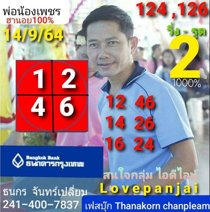 แนวทางหวยฮานอย14-9-64-วันนี้.com15