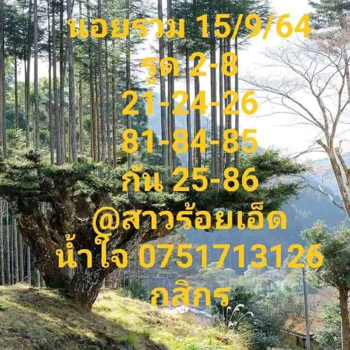 แนวทางหวยฮานอย15-9-64-วันนี้.com12