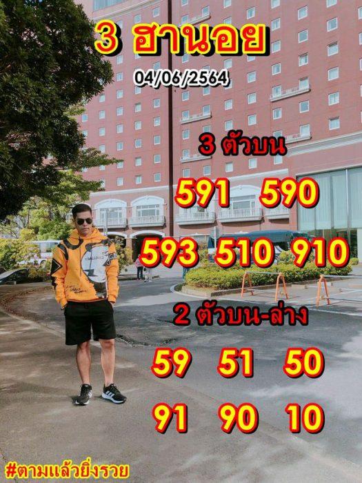 แนวทางหวยฮานอย4-6-64-วันนี้.com8