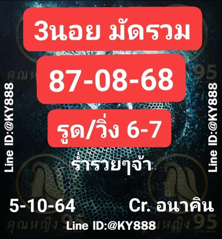 แนวทางหวยฮานอย5-10-64-วันนี้.com11