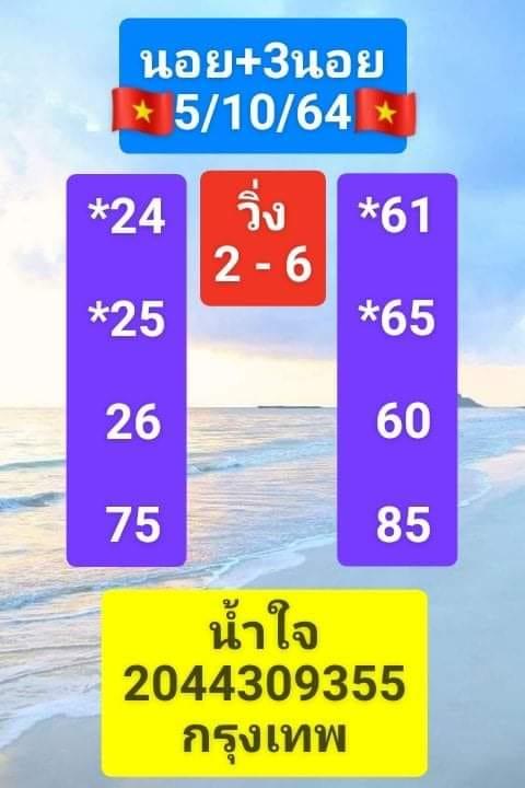 แนวทางหวยฮานอย5-10-64-วันนี้.com3