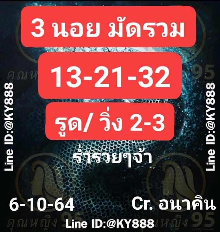 แนวทางหวยฮานอย6-10-64-วันนี้.com13