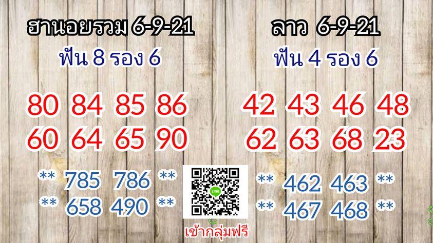 แนวทางหวยฮานอย6-9-64-วันนี้.com1