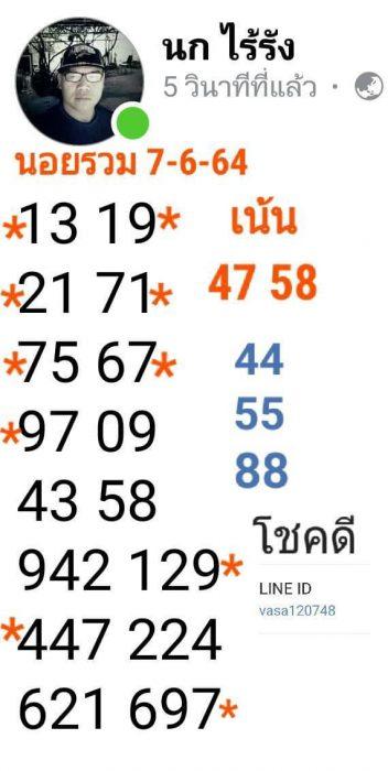 แนวทางหวยฮานอย7-6-64-วันนี้.com3