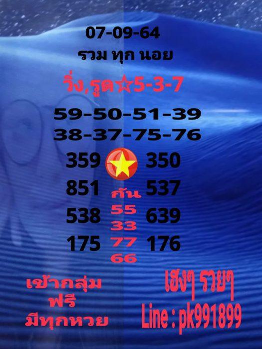 แนวทางหวยฮานอย7-9-64-วันนี้.com12