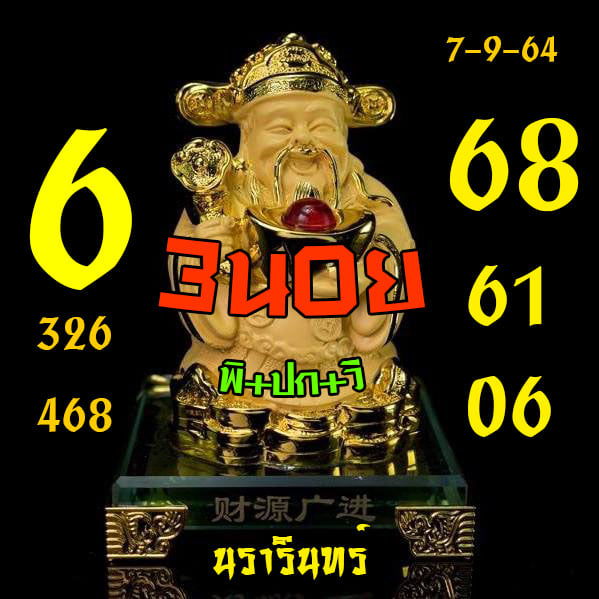 แนวทางหวยฮานอย7-9-64-วันนี้.com8