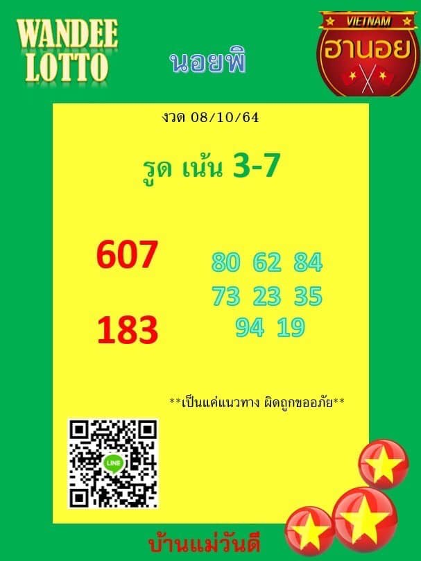 แนวทางหวยฮานอย8-10-64-วันนี้.com11