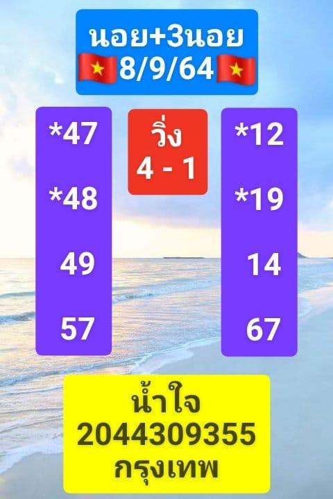แนวทางหวยฮานอย8-9-64-วันนี้.com14
