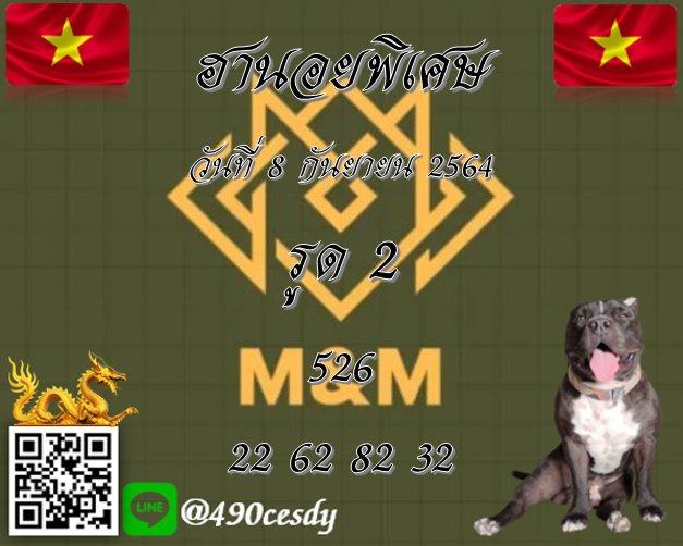 แนวทางหวยฮานอย8-9-64-วันนี้.com9