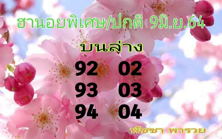 แนวทางหวยฮานอย9-6-64-วันนี้.com6