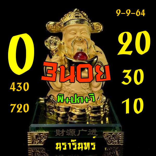 แนวทางหวยฮานอย9-9-64-วันนี้.com7